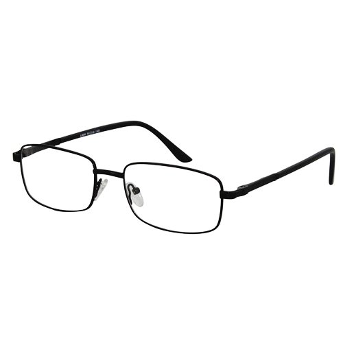 EyeBuyExpress Rectangle Black Reading Glasses Magnification Strength - Glasses Order Reading