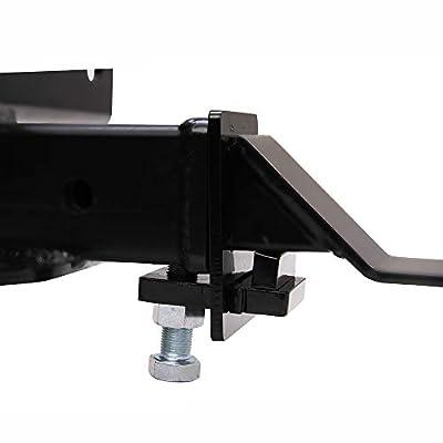 Hodenn 2 Inch Heavy Duty Hitch TightenerAnti Rattle Device-Receiver Clamp: Automotive