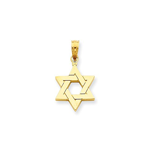 14k Yellow Gold Jewish Star of David ()