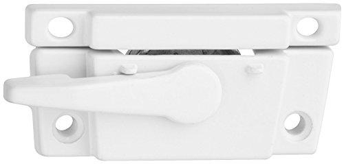 Stanley National Hardware S819-173 CD7069 Narrow Sash Lock in White Stanley Hardware Sash