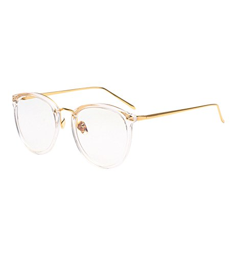 2017 Metal Nose Pads Fashion Women's Glasses Frame Optical Eyeglasses Transparent - Frames Optical 2017