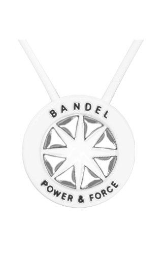 BANDEL (반델) 스포츠 건강 목걸이(화이트×실버)
