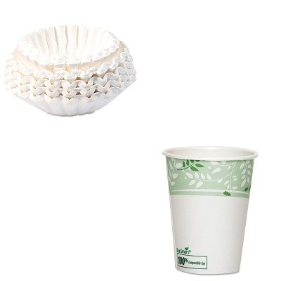 KITBUN1M5002DXE2338PLA - Value Kit - Dixie EcoSmart Hot Cups (DXE2338PLA) and Bunn Coffee Commercial Coffee Filters (BUN1M5002) by Dixie
