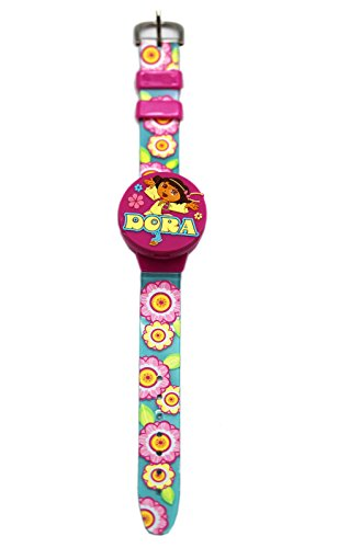 Nick Jr's Dora the Explorer Kids Digital Watch With Swappable Dial Covers Dora The Explorer Jewelry
