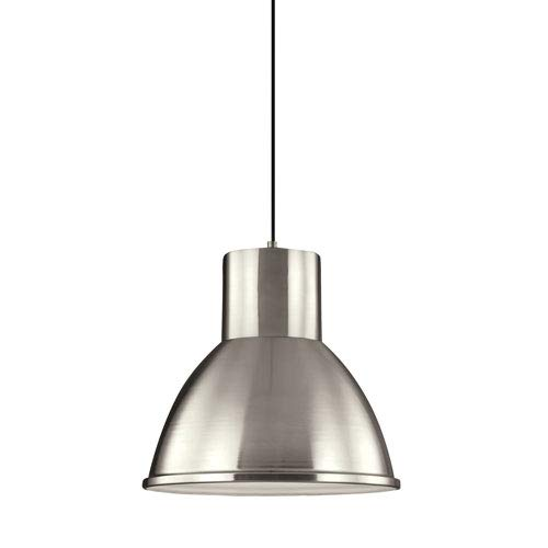 (251 First Uptown Brushed Nickel LED Energy Star Pendant)