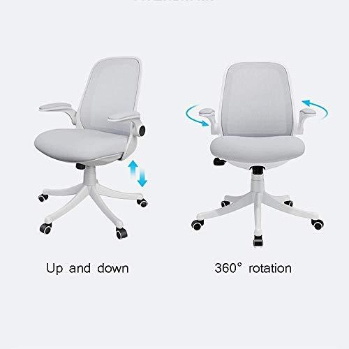 Barstolar Xiuyun kontorsstol spelstol, hem skrivbord datorstol ergonomisk med vändbar armstöd sitthöjd justerbar svängbar stol, 360° rotationsstol (färg: Stil1)