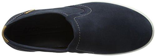 Ecco Meester Soft 7 Terwijl Slip Op Sneaker Blauw (marine)