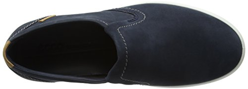 Ecco Gentlemen Soft 7 Mens Slip On Sneaker Blau (navy)