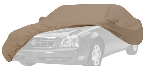 Covercraft Custom Fit Car Cover for Jaguar Cabriolet (380 Deluxe Fabric, Taupe) by Covercraft by Covercraft