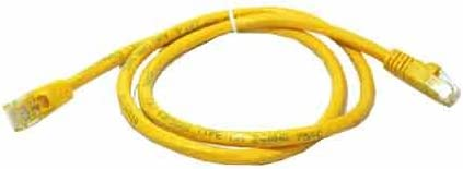 Yellow SF Cable 75ft CAT5E 350 MHz Snagless Patch Cable