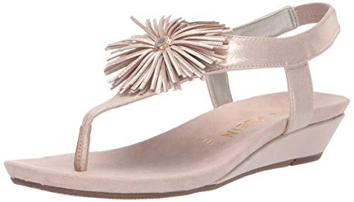 - Anne Klein Women's Isotta Sandal Wedge, Blush 6.5 M US