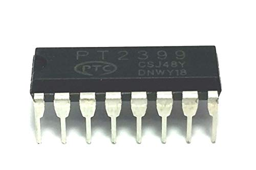 PTC PT2399 Echo Audio Processor Guitar IC DIP-16 (Pack of - Effect Pedal Pt2399