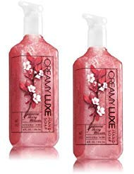 Bath and Body Works 2 Pack Japanese Cherry Blossom Creamy Luxe Hand Soap 8 Ounce