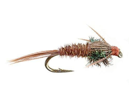 Umpqua Pheasant Tail Natural Size 14 - 2 Pack