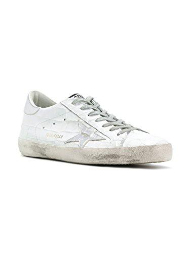 Chaussures De Sport En Cuir Blanc Hommes Doie Dor