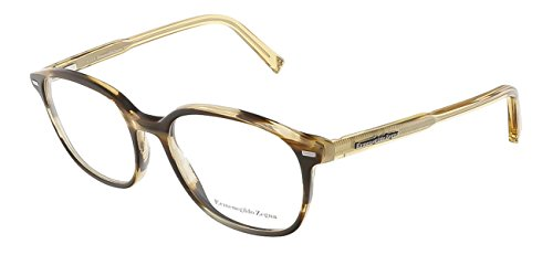 Ermenegildo Zegna - EZ5007, Geometric, acetate, men, HAVANA HONEY(062 A), - Women Zegna