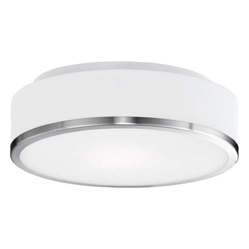 White Opal Finish (Kuzco Lighting FM6012-BN Charlie - 11.5