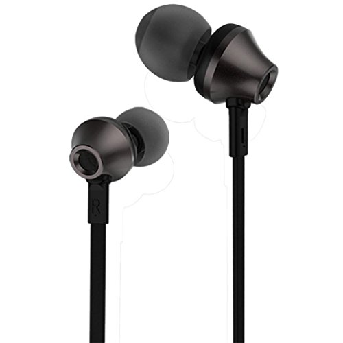 Tuscom REMAX Noodle Line Fashion RM-610D Stereo Earphone Rechargeable headset for Iphone MP4 (Black)