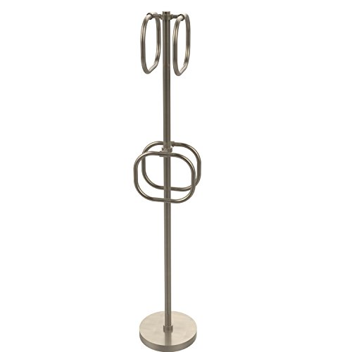 Allied Brass TS-40-PEW 6-Inch Towel Ring, Antique Pewter