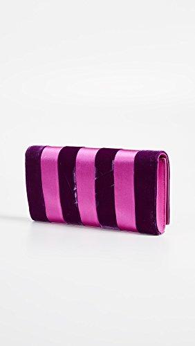 Furstenberg Women's Pink Diane Ribbon Velvet Multi von Clutch aCAxxqZnOw