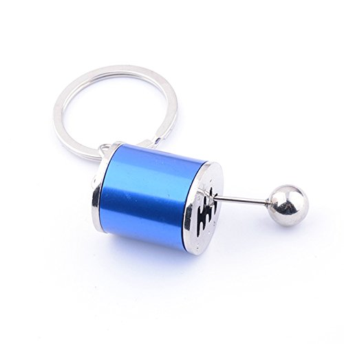 (fomoisclU Creative Car 6 Speed Gear Shifter Model Metal Key Chain Fob Ring Keychain Husband Girlfriend Boyfriend Present Valentine's Day/Mother's Day/Father's Day/Thanksgiving Day/Birthday Gifts )