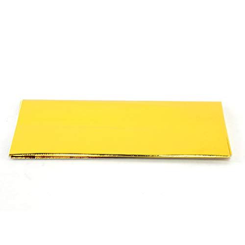 HiwowSport Gold Reflective Adhesive Backed Heat Barrier Reflect-A-GOLD Sheet (20in X 20in)