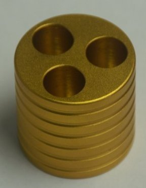 Electronic cigarette display metal base/e cigarettes holder/colorful e cig stand for all ego ego t ego c twist ego-w egot lcd etc batteries (GOLD)