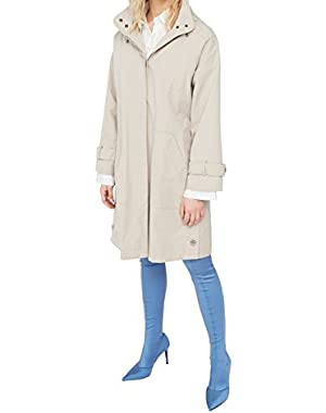 Mango Women's Side Buttons Parka