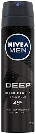 Nivea Men Desodorante Antitranspirante Hombre Deep Spray, 150ml