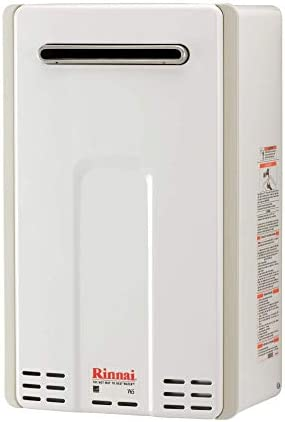 Rinnai Outdoor Tankless Hot Water Heater / V65eP / Propane / 6.3 GPM, Large, V65eP-Propane/6.5