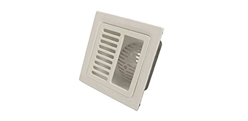 IPS 60500 12'' x 12'' Half Square Grate Floor Sink by IPS