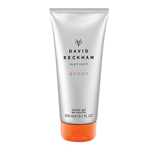 Ginger Mandarin After Shave - Beckham Instinct Sport Hair and Body Wash 200ml