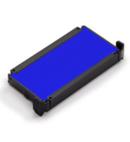 BLUE NEW Replacement Ink Pad for TRODAT Printy 4913 Self Inking - Trodat Pad Blue Replacement Ink