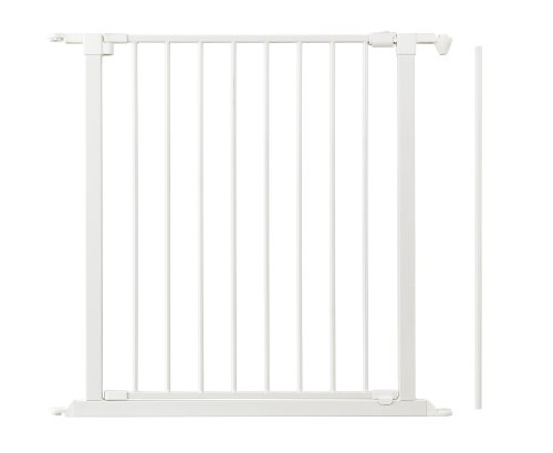 """Baby Dan Safety Gate Extension with Door, White, 28"""" x 4"""""""