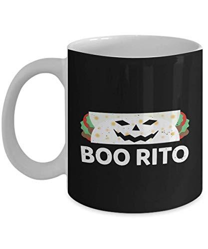 Funny Boo Rito Halloween Burrito Pun Gift Coffee Mugs ()