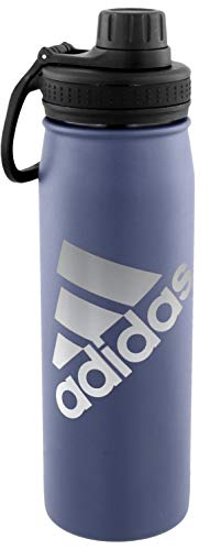 (adidas 18/8 Stainless Steel 600 mL Hot/Cold Insulated Metal Bottle (20oz))
