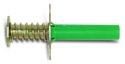 Powers Fastening Innovations 07542 Bang-It Green 3/8-Inch Internal Thread Concrete Inserts For Metal Composite Decking, 100 Per Box