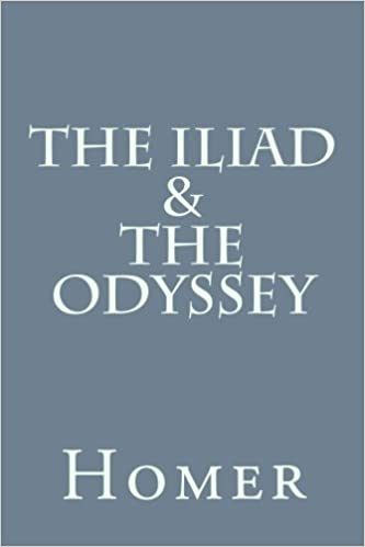 The Iliad And The Odyssey Homer 9781533527301 Amazon Books
