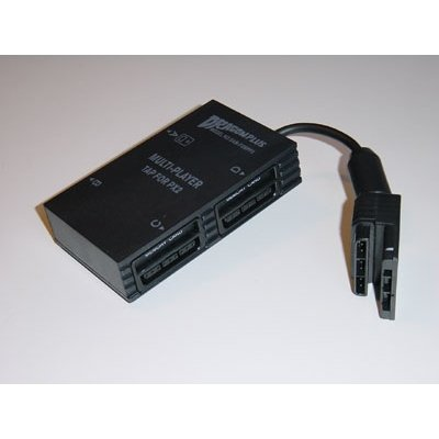 PS2 Multi-tap Dual Adapter (Slim and Original) (Ps2 Sony Tap Multi)