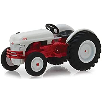 1947 Ford 8N Tractor White And Red Down On The Farm Series 1 1/64