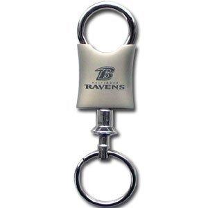 Siskiyou FKC180V NFL Valet Key Chain - Baltimore Ravens
