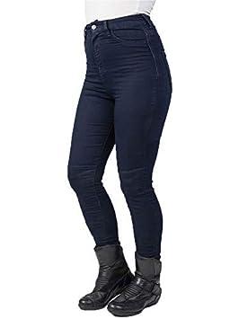 Regular Womens Motorcycle Jeans Bull-It Blue Fury SP120 Lite Jegging