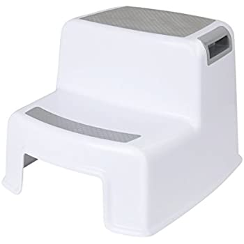 Cusfull Dual Height Two Step Stool For Kids Toddleru0027s Stool for Potty Training and Baby  sc 1 st  Amazon.com : step stool - islam-shia.org