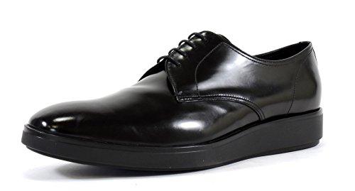 Herrenschuhe Business Leder Herren Schnürschuhe Prada Sc Schuhe derby spazzolato OqBTxnx