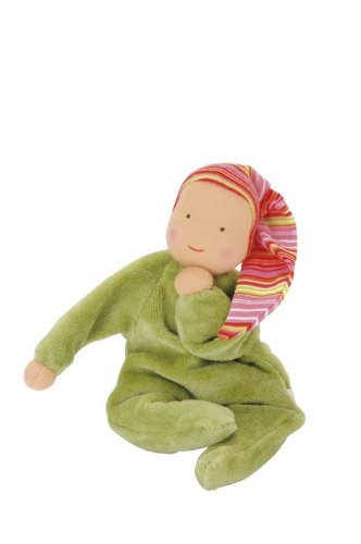 Kathe Kruse Nickibaby Doll Green