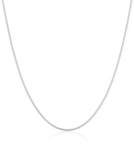 Sterling Silver 0 6mm Chain Necklace