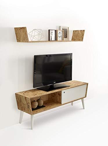 hogar24 es meuble tv avec etagere