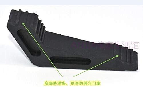 He-lanshangmaobu Convenient Rubber Door Stop Wedge Design Door Stop Baby Safety Protector Child Anti-Skid Door Buffer