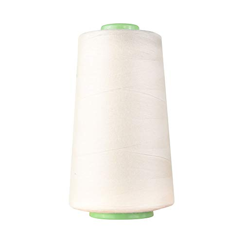 - 100% Cotton Thread Solids 40S/2 Cotton Sewing Thread 3400 Yards for Quilting, Carpet, Dress Making, General Stitching