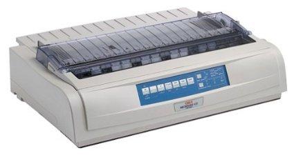 Okidata - Okidata Ml420 Dot Matrix Printer - Ml420 Microline Dot Matrix Okidata